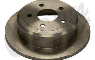 Brake Disc / Rotor (Rear), JK (52060147AA / JM-04459 / Crown Automotive)