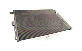 A/C Condenser & Transmission Cooler (55038003AG / JM-03192 / Crown Automotive)