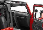 Trektop NX Soft Top, Black, JK 2 Door (56822-35 / JM-01102 / Bestop)
