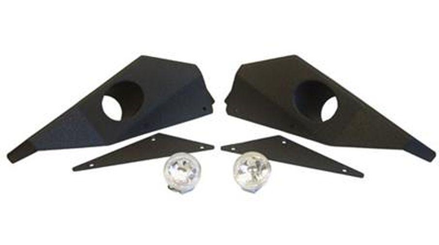 XRC M.O.D Full Width End plates, JK (76828 / JM-02995 / Smittybilt)