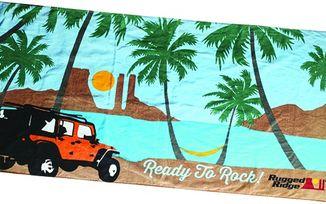 Beach Towel, Rugged Ridge (14230.01 / JM-04323 / Rugged Ridge)