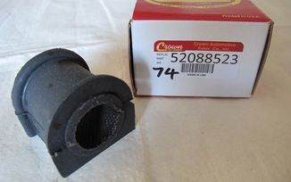 "Front stabilizer / Roll bar Cushion (1.02"" XJ & ZJ) (52005653 / JM-00074 / Crown Automotive)"