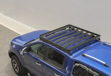 Ford Ranger T6 (2012-Current) Slimline II Roof Rack Kit (KRFM010T / SC-00051 / Front Runner)