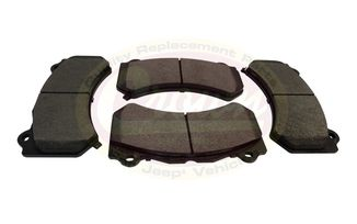 Brake Pad Set (Front), SRT8, WK2 (68144427AB / JM-02100 / Crown Automotive)