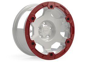 Nomad Split Rash Ring Kit w/ Hardware – Red (1056014 / JM-05736 / TeraFlex)