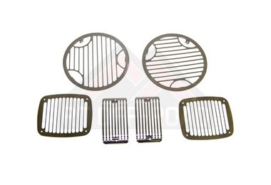 Billet Style Light Guard Set (Stainless) (488427/RT34063 / JM-00003 / RT Off-Road)
