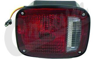 Tail Light (Left-Black) (J5457197 / JM-04956 / Crown Automotive)