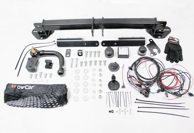 Detachable Tow Bar with 13 Pin Electrics, Renegade (TF4090 / JM-05731 / Terrafirma)