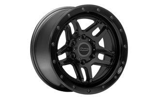 T-Series, 17x8.5 (ET0), Black, JK / JL / JT (4WP5014-7857347 / JM-05919 / 4WP Factory)