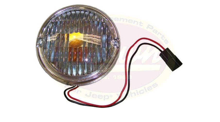 Front Parking Lamp, CJ (J5752771 / JM-01396OS / Crown Automotive)