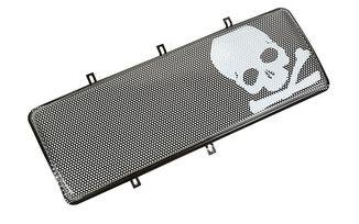 Spartan Grille Insert, Skull; 07-17 Jeep Wrangler JK (12034.23 / JM-03526 / Omix-ADA)