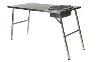 Stainless Steel Prep Table W/ Basin (TBRA004 / JM-04750 / Front Runner)