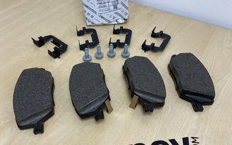 Brake Pad Kit Front (Mando) (52094174 / JM-05826 / Mopar)