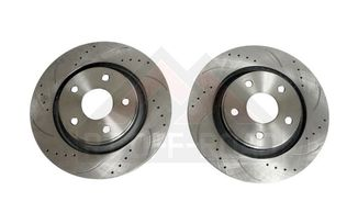 Brake Rotor Set, Drilled & Slotted, Front (RT31044 / JM-00864 / RT Off-Road)