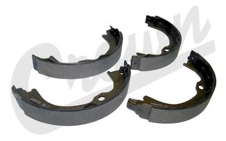 Parking Brake Shoe & Lining, JK & KK (68003589AA / JM-04187 / Crown Automotive)