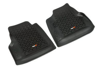 Floor Liners, Front, Pair, Black, TJ (12920.11 / JM-02340 / Rugged Ridge)