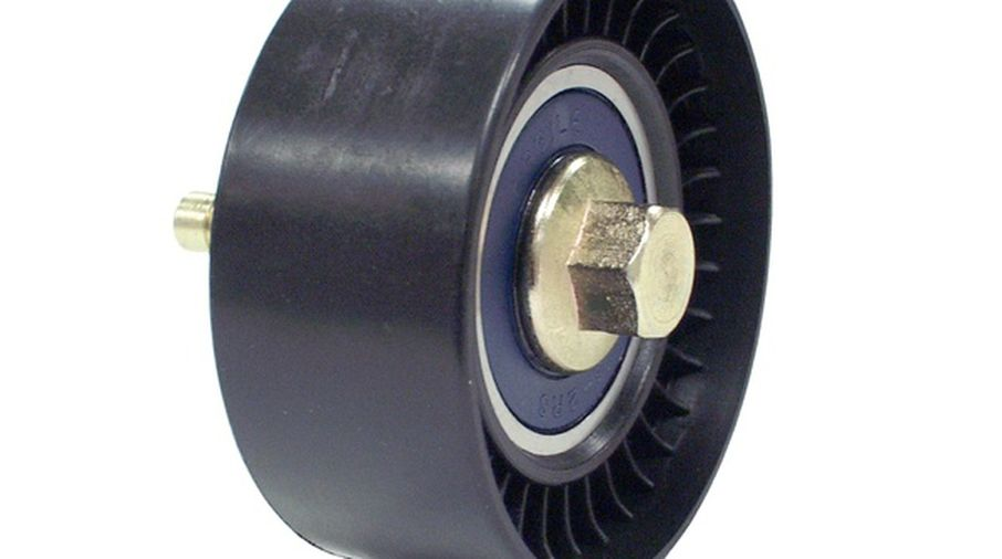 Idler Timing Belt Pulley, Diesel (5142573AA / JM-00543/OS / Crown Automotive)