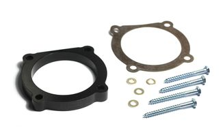 Throttle Body Spacer, 3.6L, 12-17 Jeep Wrangler JK (17755.03 / JM-04288 / Rugged Ridge)