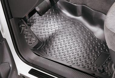 Front Floor Trays, Black, XJ (1566.41 / JM-02940 / Husky Liners)