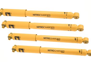 """Nitrocharger Sport Shock Absorber Kit, JL (2.5-3.5"""" Lift) (JLNCSS / JM-04709 / Old Man Emu)"""