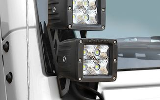 Dual LED Sport Light Kit, JK (76410P / JM-04529 / Pro Comp)