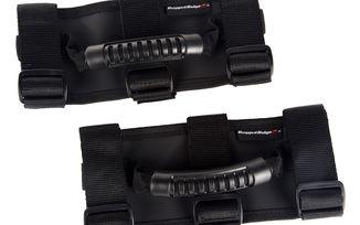 Ultimate Grab Handles, Black, 55-18 CJ & Wrangler (13505.04 / JM-04416 / Rugged Ridge)