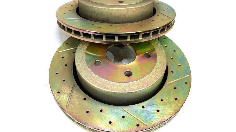 Rear Performance Brake Disc / Rotor (Pair), WK SRT8 (J4BM47521/5290731AB / JM-05399 / Terrafirma)