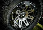 XHD Aluminum Wheel, Gun Metal, 18X9, JK (15305.30 / JM-02705 / Rugged Ridge)