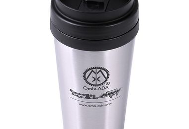 Travel Mug, Omix-ADA, Stainless Steel (12595.09 / JM-04324 / Omix-ADA)