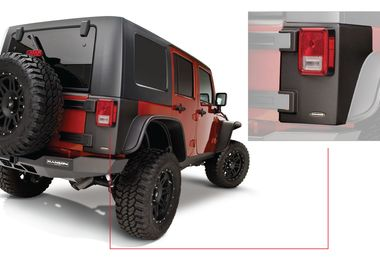 Trail Armor Rear Corner, 4 Door JK (14010 / JM-02864 / Bushwacker)
