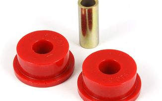 Suspension Track Bar Bushing, Front, Red; 84-01 Jeep Cherokee XJ (18368.02 / JM-03695 / Rugged Ridge)