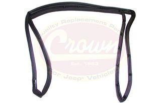 Full Door Weatherstrip (Left), CJ & YJ (55176223 / JM-01723 / Crown Automotive)