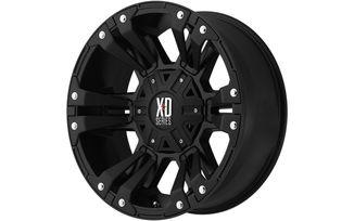 XD Monster II, Black, 18x9 (ET18) (6x139.7/135) (XD8228907718 / SC-00145 / XD Series)