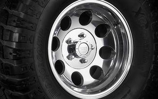 Polished Alloy Wheel, 15x8 (1430.22 / JM-02939 / DuraTrail)