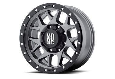 XD Bully, Grey, 18x9 (ET18) (6x139.7) (XD12789068418 / SC-00117 / XD Series)
