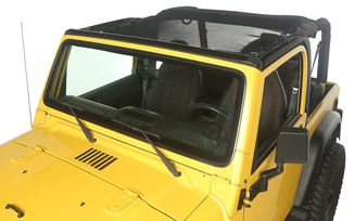 Eclipse Sun Shade, Full, 97-06 Jeep Wrangler TJ (13579.08 / JM-05079 / Rugged Ridge)