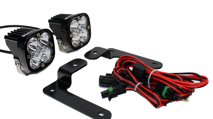 A-Pillar LED Light Sportsmen Kit, JL (447504 / JM-04488 / Baja Designs)