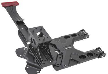 HD Tire Carrier Kit, JK (SB2843 / JM-03150 / Smittybilt)