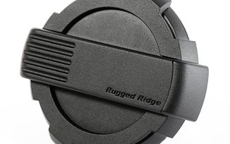 Elite Fuel Door, Black (11425.12 / JM-04092 / Rugged Ridge)