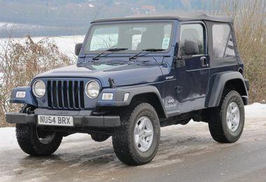 SOLD - Jeep Wrangler 4.0L Sport 2004 (NU54 BRX)
