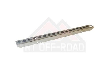 Front Bumper, Racing Stainless, YJ (488436 / JM-02274 / RT Off-Road)