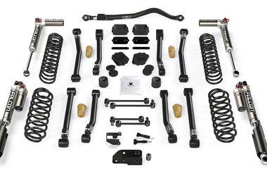 "3.5"" Alpine CT3 Short Arm Suspension System & Falcon SP2 3.3 Fast Adjust, JL 4dr (1523033 / JM-05023 / TeraFlex)"
