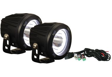 "3.7"" Optimus Round Halo LED Driving Lights x 2 Kit (XIL-OPRH115KIT / JM-02557 / Vision X lighting)"