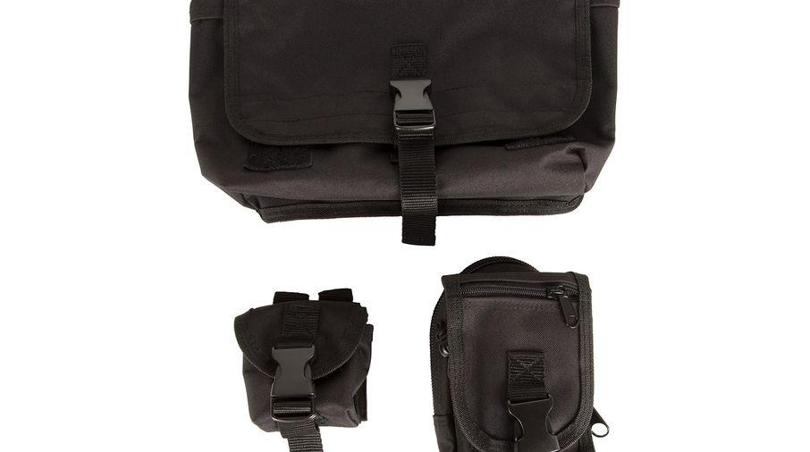 Storage Bag System, MOLLE, JL Rubicon (12113.01 / JM-04565 / Rugged Ridge)