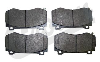 Brake Pad Set (Front), SRT8 (5174311AB / JM-04009 / Crown Automotive)