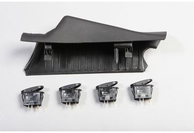 A-Pillar 4 Switch Pod Kit, JK 11-16 RHD (17235.97 / TF4112 / JM-02879 / Rugged Ridge)