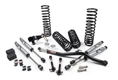 "2.5"" Suspension Lift, JK, 2 Door (Fox 2.0 Performance Shocks) (107K / JM-02631 / JKS Manufacturing)"