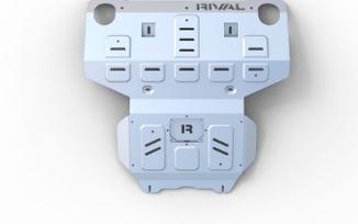Radiator & Engine Skid Plate, Hilux (2333.5710.1.6 / SC-00153 / Rival 4x4)