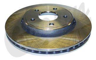 Disc Brake Rotor (Front), WK & XK (52089269AB / JM-04007 / Crown Automotive)