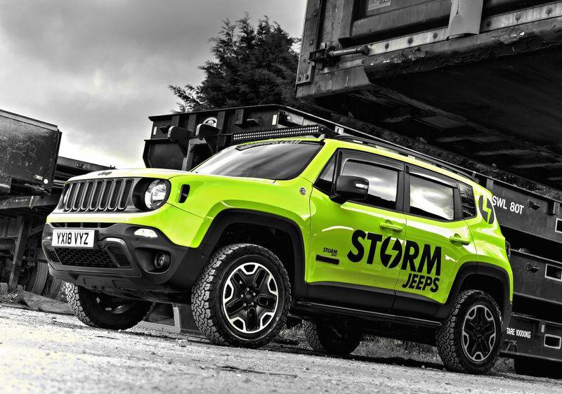 STORM-29, 2018 Jeep Renegade Trailhawk